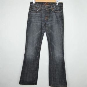 7 for All Mankind Jeans Bootcut Blue size W26/L31